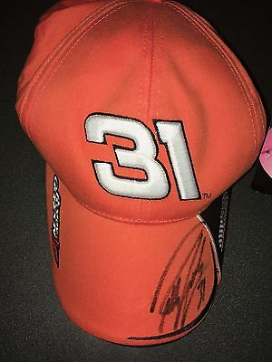 Robby Gordon on NASCAR #31 hat with tag $29