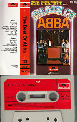 ABBA - The Best of *incl. Nina Pretty Ballerina ★ MC Musikkassette Cassette
