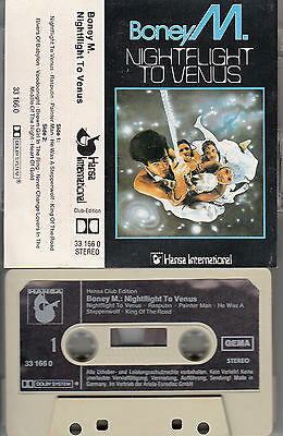 BONEY M. - Nightflight to Venus ★ MC Musikkassette Cassette