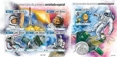 Z08 GB15604ab GUINEA-BISSAU 2015 Space MNH Set