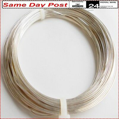 925 solid silver wire 0.6 mm for making decorating repair jewelry 50cm- 10 m