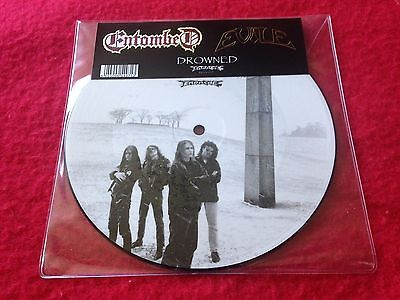 """Entombed Evile Drowned Rsd 2013 Mint Unplayed Vinyl 7""""  Picture Disc"""