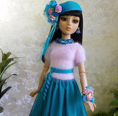 By lisella64...Doll Outfit for Tonner Ellowyne,Lizette,Amber-With Jewelry-