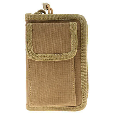 Outdoor Camping Tactical Nylon Wallet Card Phone Pouch Holder Hand Bag Pocket