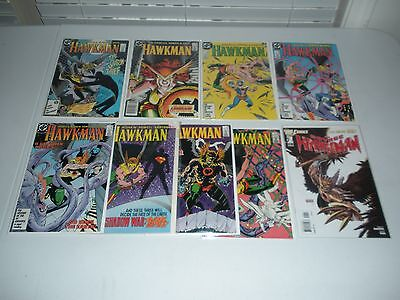 DC's Hawkman Copper Age comic book lot