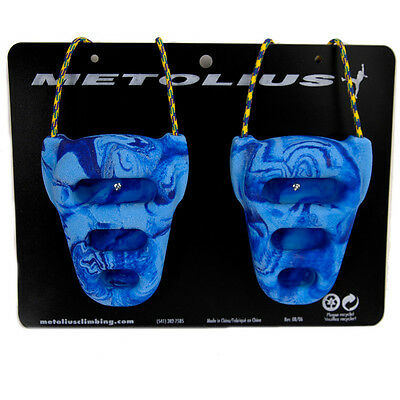 Metolius Rock Rings CNC 3D Blue/Blue Swirl One Size