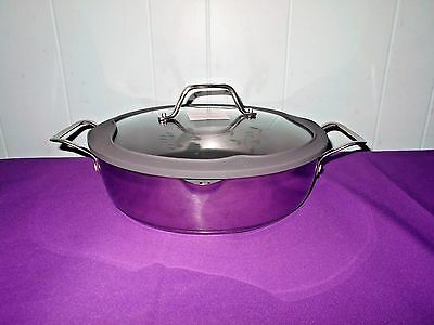 Princess House Culinario Series 10ʺ Straining Skillet w/Silicone Lid New In Box