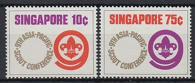 Singapore 1974 ** Mi.213/14 Pfadfinder Scouts Scouting [st1638]