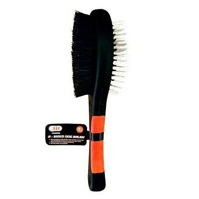 Double Sided Dog Brush, Hair Grooming, Coat Comb, Fur Cleaner, 2 Sided Dog Brush