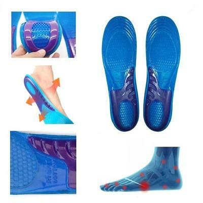 Foot Fatigue Relief Soft Gel Arch Support Massage Shoe Inserts Insoles Pads