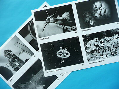The Outer Limits TV monster 2 diff 8 X 10 photo w/ 8 scenes Mutant OBIT + more