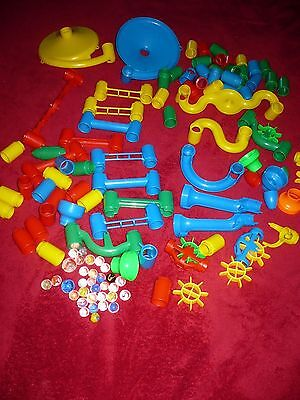 Vintage Toys Marble Building Run replacement parts lot