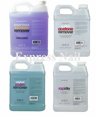 OPI Polish Remover - Expert Touch - Pure Acetone or Rapidry Spray 32 oz / 960 mL
