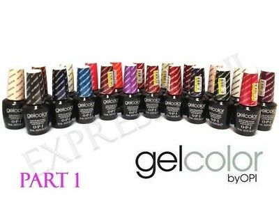 OPI GelColor GENUINE Gel Color Gel Polish .5 oz / 15 mL PART 1 UV/LED Pick One