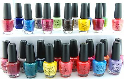 OPI Nail Polish Lacquer Assorted Colors. Match OPI GelColor Choose One Part 1