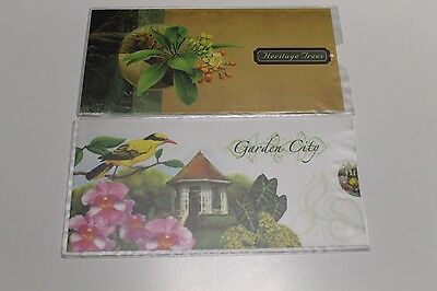 2002-2003 Singapore Stamp Packs Heritage Trees And Gardens Muh Stamps