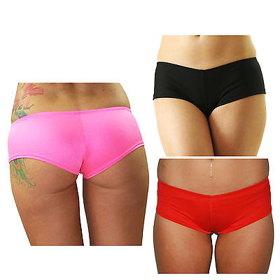 Plain Lycra Colour Hotpants for Pole Fitness, Dance, Pole Dancing