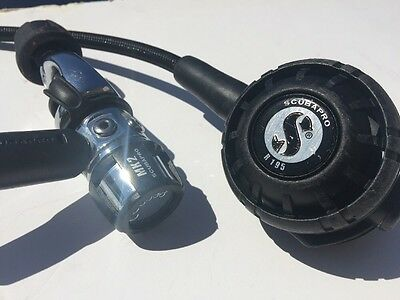 Scubapro MK2 R195 Scuba Regulators With Extra Rebuild Kits for 1st & 2nd Stages
