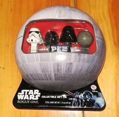 Star Wars Rogue One: 2016 Pez Collectible Gift Tin NEW