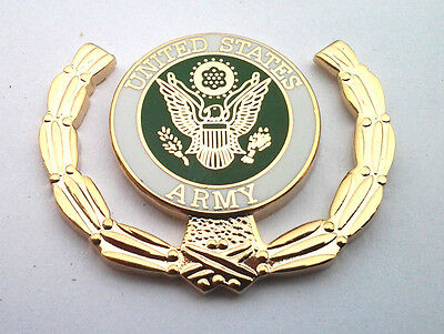 UNITED STATES ARMY LOGO w/ WREATH  Military Veteran Hat Pin 15778 HO