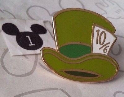 Mad Hatter WDW Cast Member Exclusive Hat Box Alice in Wonderland Disney Pin
