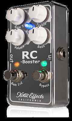 Brand New Xotic Effects RC Booster V2 newest version Really Clean Boost!