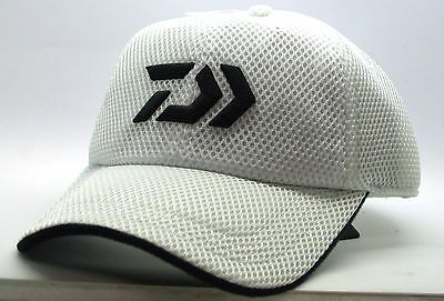 Daiwa Mesh Peak Cap White Hat BRAND NEW