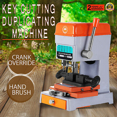 Key Copy Duplicating Machine With Full Cutters Locksmith Tools Set 368A