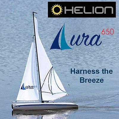 Helion Aura 650 Rtr Sailboat With 2.4Ghz Radio