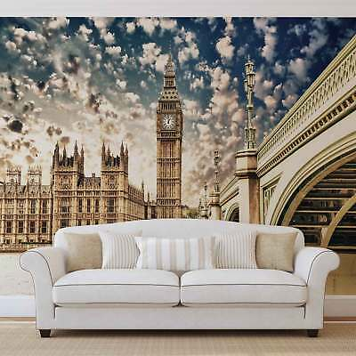 WALL MURAL PHOTO WALLPAPER XXL Houses of Parliament City	 (844WS)
