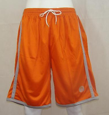 Basketball Shorts / Orange / Grey FREE P & P - priced to clear