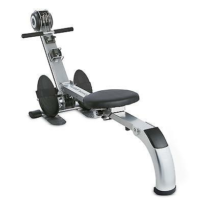 Capital Sport Stringmaster Rowing Machine Bench Fitness Solid Training Pc Silver