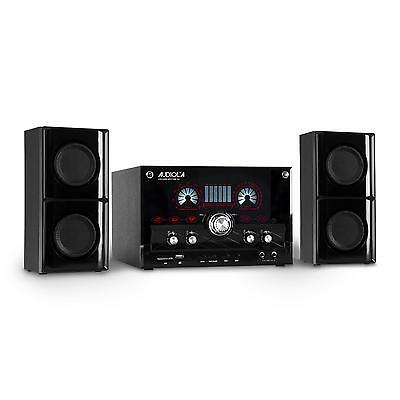 Majestic Home Audio Stereo System Subwoofer Usb Sd Mp3 Music Player Floor Aux
