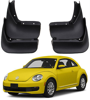 NEW OEM FRONT & REAR Splash Guards Mud Guards Mud Flaps For 2012-2017 VW Beetle