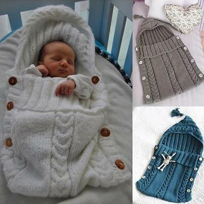Hot Newborn Baby Blanket Swaddle Sleeping Bag Toddler Sleep Sack Stroller Wrap