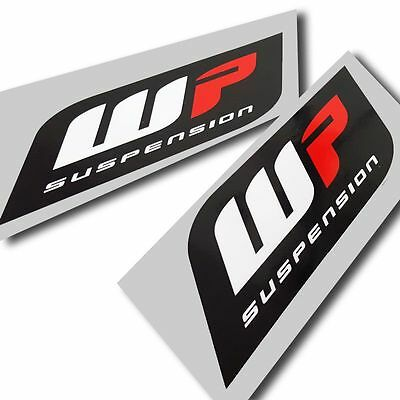 WP suspension forks stickers motorcycle decals custom graphics x 4 small style#2