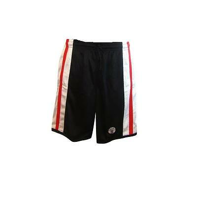 Basketball Shorts / By Starting 5 / Black/Red/White (Tray 701 W/H ) FREE P & P