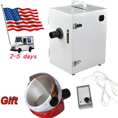 Dental Dust Collector Vacuum Cleaner for Sandblasters Polishing Lab 110V/220V