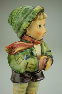 M.I. Hummel Goebel Figurine It's Cold #421 TMK6 Figurine