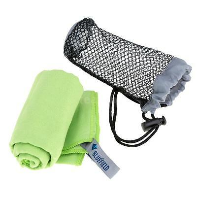 BLUEFIELD Quick-drying Towel Camping Travel Towel Microfibre Towel  Green I0W4