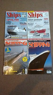 4 x Ships and Shipping Magazines