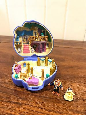 Vintage Polly Pocket Beauty And The Beast Compact 100%
