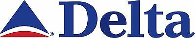 DELTA AIRLINES  Banner- Vintage   FREE SHIPPING