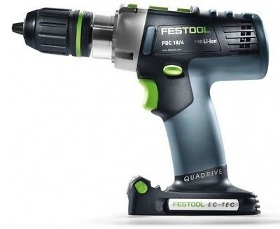 Festool HAMMER DRILL PDC18BASIC 13mm, 18V Li-Ion Battery,Brushless *German Brand