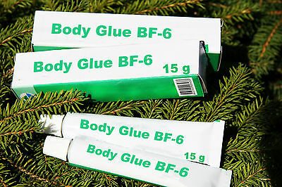 Body Glue BF-6, 15g - heals wounds, burns, cracks, scratches other skin injuries