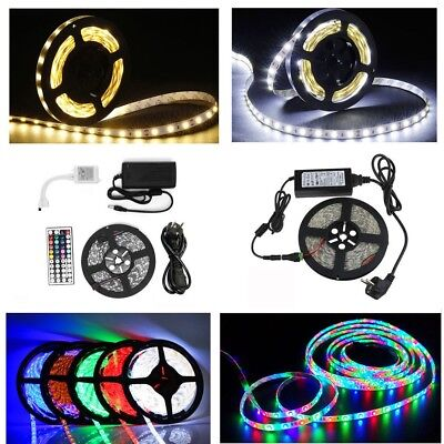 1m-30m Set SMD 5630 5050 3528 LED Strip Streifen Band Leiste Stripe Lichterkette