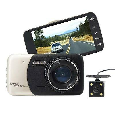 1080P Car HD DVR Dual Lens Camera Video Recorder G-sensor Rearview Dash Cam UK