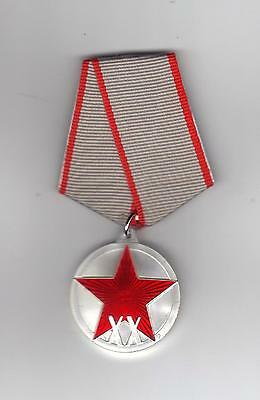 Jubilee Medal Xx Years Of The Workers And Peasants Red Army - New - Copy