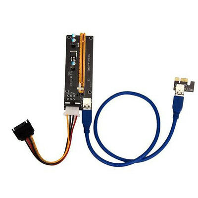 USB 3.0 PCI-E Express 1X To 16X Cable extention gpu assic ...