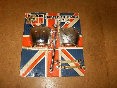 Action Man Vintage Palitoy - Breast Plate Armour ( Cuirass ) - 1970 - Sealed Moc